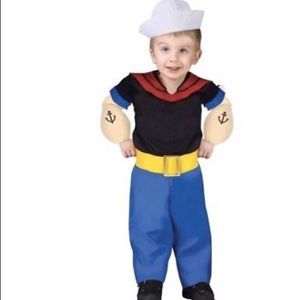 popeye the sailor man toddler 24-2t costume ❤️